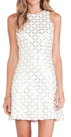 pretty white and gold dress  http://rstyle.me/n/nnajepdpe
