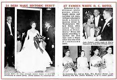1955-African-American debs make history at Willard Hotel ball