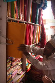 More fabric for sale in India.
