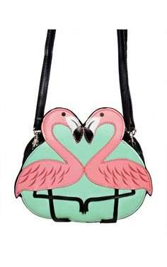 Pink Flamingo Bag