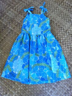 Little Miss dress in a bright turquoise. shades, turquoise, dresses, prints, little miss, featur shade, hula dress