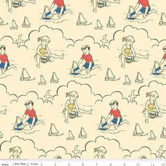 Riley Blake Designs: C2960-Cream