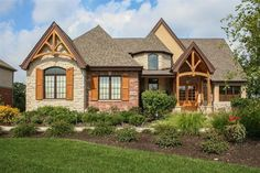 A rustic house with plenty of curb appeal. St. John, IN Coldwell Banker Residential Brokerage