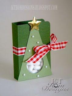 Cute Xmas tree tic-tac box