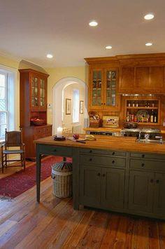 Workshops of David T. Smith - Custom Kitchens ~www.davidtsmith.com