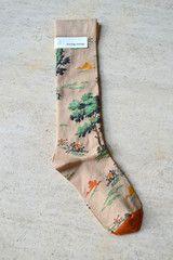 Equestrian Print Socks