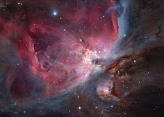 The Trapezium Cluster and Surrounding Nebulae by Laszlo Francsics of Hungary
