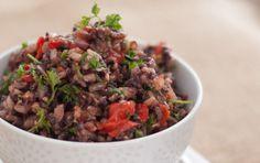 Mediterranean Wild Rice Pilaf via @macnmomorsels