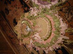 Magnolia Pearl Pink and Green handbag
