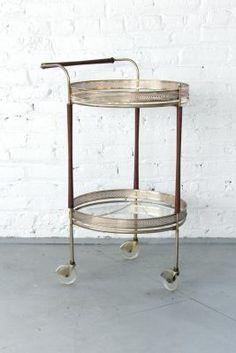Patina | Baby Got Brass Bar Cart