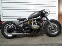 1975 Honda Goldwing Bobber: I chopped and bobbed my 1975 GL 1000 Honda Goldwing.  Modifications include: hardtail rear frame section, 16 balloon tires, modified frame backbone, mustang