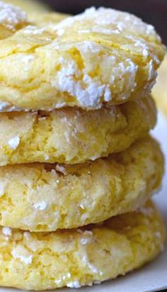 Lemon Bar Cookies - Made these and everyone loved them. Very soft, like little lemon cakes.