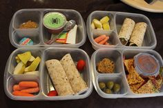 packed lunch ideas