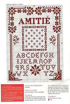 Points de croix *@* cross stitch alphabet