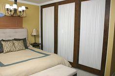 How to Repurpose Mirrored Closet Doors - on HGTV