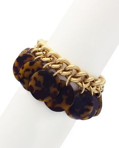Spotted this Sparkling Sage 14K Plated Resin Tortoise Bracelet on Rue La La. Shop (quickly!).