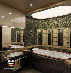 احدث تصميمات وصور حمامات 2014 - اجمل حمامات وتصميمات جديدة لكل العرائس 2014 - حمامات روووووعه