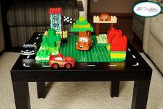 DIY Lego and Car Table