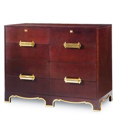 The Gilded Age, a Dorothy Draper Bureau, Reimagined - Kindel Furniture