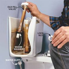 Just what you always wanted to know how to do, fix the guts of the toilet to prevent it from continuously running.