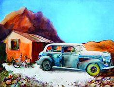 "Laurie Giangregorio. ""Featured Artist"" Huachuca Art Gallery at The Mall. Sierra Vista, AZ. March 2014."