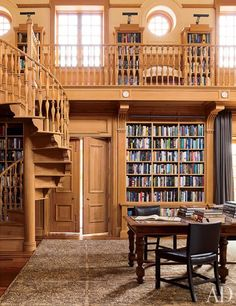 M. Night Shyamalan's home library... looove it! reminds me a little bit of Beauty and the Beast :)