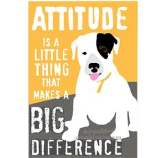 Black and White Spotted Puppy Motivational Art for by GoingPlaces2, $13.00