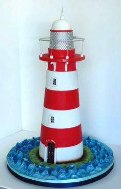 Lighthouse cake, so cool