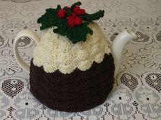 4-6 Cup Crochet Tea Cosy/ Tea Cozy/ Cosy/ Cozy Christmas Pudding (Made to order) $38.00 USD