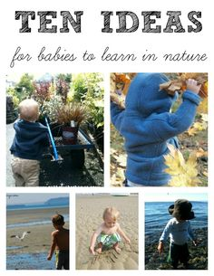 Nature Activities for Babies from Carrots Are Orange
