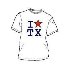 Texas Star T-Shirt. $13.99, via Etsy. sandiashirts