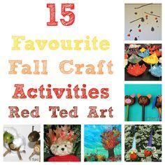 15 falls craft activities!