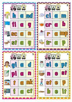 Blends Bonanza - teaching consonant blends $