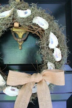 Oyster Wreath by Southern State of Mind.