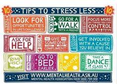 Stress less.