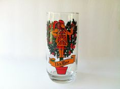 Pepsi Glass 11th Day of Christmas Glassware by TheDearestDollhouse, $8.00