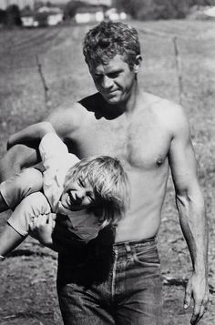 Steve McQueen and son