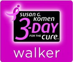 3 day walk for breast cancer!