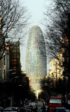Barcelona - water tower @Angela Gray Gray Tofani