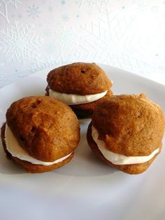 Pumpkin Whoopie Pie with Cream Cheese Filling