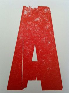 letterpress / A