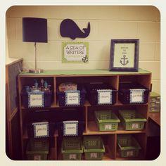 My nautical kindergarten classroom!