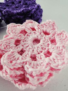 Tutorial crochet flower