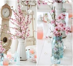 cherry blossom table inspiration #cherryblossomweddings