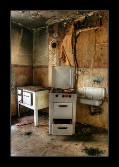 _ abandoned Kitchen Eqiupment by anvosa, via Flickr