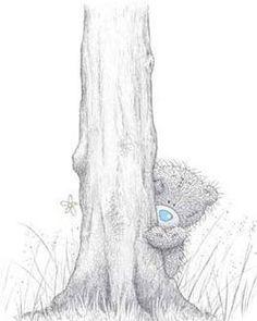 Tatty Bear draw, hide, tatti taddi, teddi bear, bear galor, forev friend, clipart, tatti bear, tatti teddi