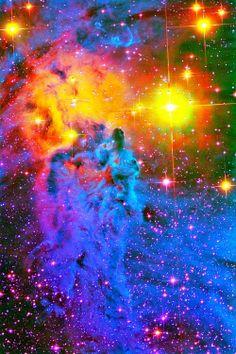 Fox Fur Nebula. Another color bonanza in space