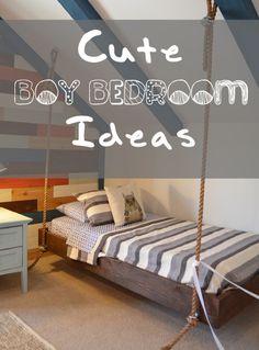 Cute Boy {and girl} Bedroom Ideas