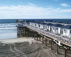 San Diego's Crystal Pier Hotel These 1930s bungalows can be rented like a hotel room—and you get to sleep on a pier. Credit: courtesy of Crystal Pier Hotel