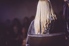 Three-time British Hairdresser of the Year and Davines Global Artistic Director, Angelo Seminara, doing what he does best on stage in Toronto!